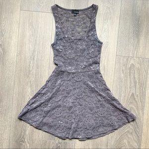 Aritzia Dilemma Floral Lace Dress Size XXS